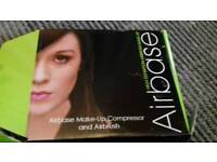 Make up artist - Airbase airbrush Pro kit compressor plus cleaning pot NEW BARGAIN