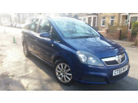 2006 VAUXHALL ZAFIRA 1.6 CLUB MET BLUE,NEW MOT,LOW MILES,GREAT VALUE