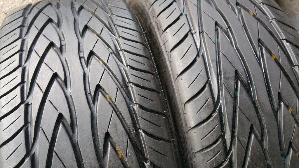 225 45 18 2 x tyres Toyo Proxes 4 E