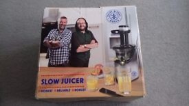 Hairy Bikers Slow Juicer - NEW