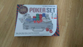 poker set, 6 shot roulette