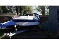 Rinker V190 Sports Cruiser Boat & Trailer
