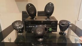 Onkyo TX-NR609 4K, 7.2-channel, THX Select2 Plus with surround sound speakers (WORKING CONDITION)