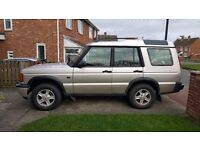 2001 [51] reg Land Rover Discovery GS 2.5 Td5 7 seater 4x4