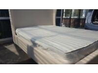 Queen Size Bed Frame With Headboard + free mattress
