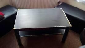 Ikea coffe table black 90x55x45 cm