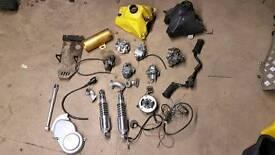 Pit bike parts job lot