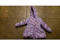 Frozen girl's coat 4 years old