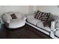 Limited edition sparingly used sofa, bed and swivel_chair