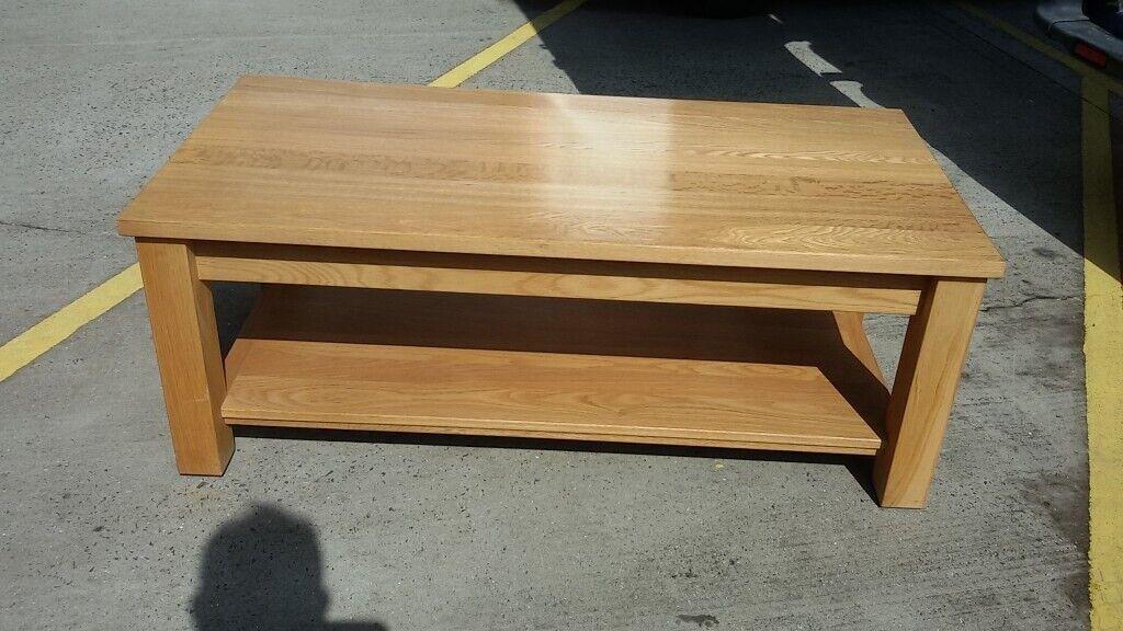 Modern light colour Oak coffee table   in Newcastle, Tyne ...