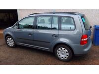 2004 Volkswagen Touran 1.9 TDI Diesel. Bargain Trade in diesel estate size of passat mondeo zafira