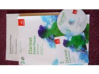 CLARINET GRADE 3 EXAM MUSIC AND CD
