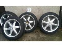 20 inch 6x139 4x4 alloys wheels