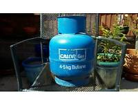 4.5 litres gas cylinder full with valve