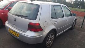 Volkswagen Golf 2.3 l 12months MOT Auto full leather heated seats all original features