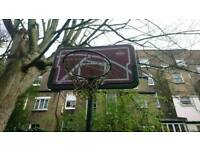 Freestanding basketball net