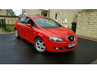 SEAT LEON 1.6 SPORT GENUINE 64K 2 OWNERS YOUNG DRIVER CHEAP INSURANCE REVERSE SENSORS DRIVES PERFECT