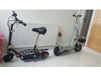 L@@k x2 electric scooters *** razor e300+evo scooter