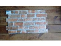 Manhattan Rustic Red Brick Effect Tiles (12)