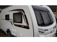 PRICE REDUCED! 2014 Coachman VIP 460/2 2 Berth Caravan, as new condition