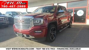 2016 GMC Sierra 1500 DENALI CREW CAB w/Leather, Navi, BackUp Cam