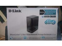 2-Bay Cloud Network Storage Enclosure