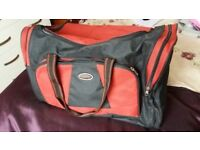 Black and Red Sports Bag
