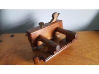 Vintage wooden plough plane
