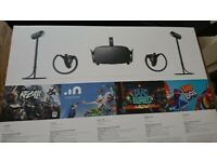 REDUCED Oculus Rift VR Gaming system Ideal Xmas present or lockdown pastime