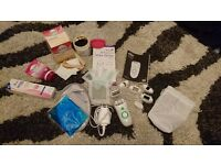 Various types of hair removal set, epilator, wax strips, oriental wax, hair removal creams