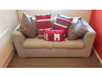 beige Sofabed for sale