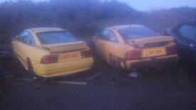 Vauxhall calibra se2 spares