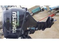 8hp tohatsu four stroke long shaft electric and pull start outboard 2014 modal