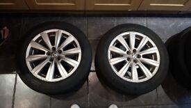 VW Polo 16 Inch Alloy Rims