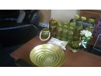 Green ornaments for kitchen / display / table dressing