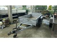 good iforwilliams gd84 rampTailgate trailer with ramps no vat