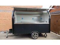 Mobile Catering Trailer Burger Van Hot Dog Ice Cream Pizza Trailer Food Cart 3000x1650x2300