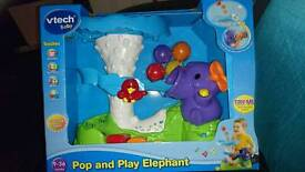 Pop and play elephant