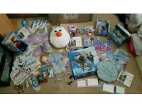 Joblot disney frozen olaf Anna elsa sven lot