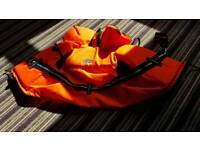 Child's life jacket never wore