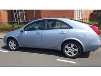 Nissan Primera 2006, Excellent condition, 1.8, Ready to drive away - With Many Free Extra Stuff!