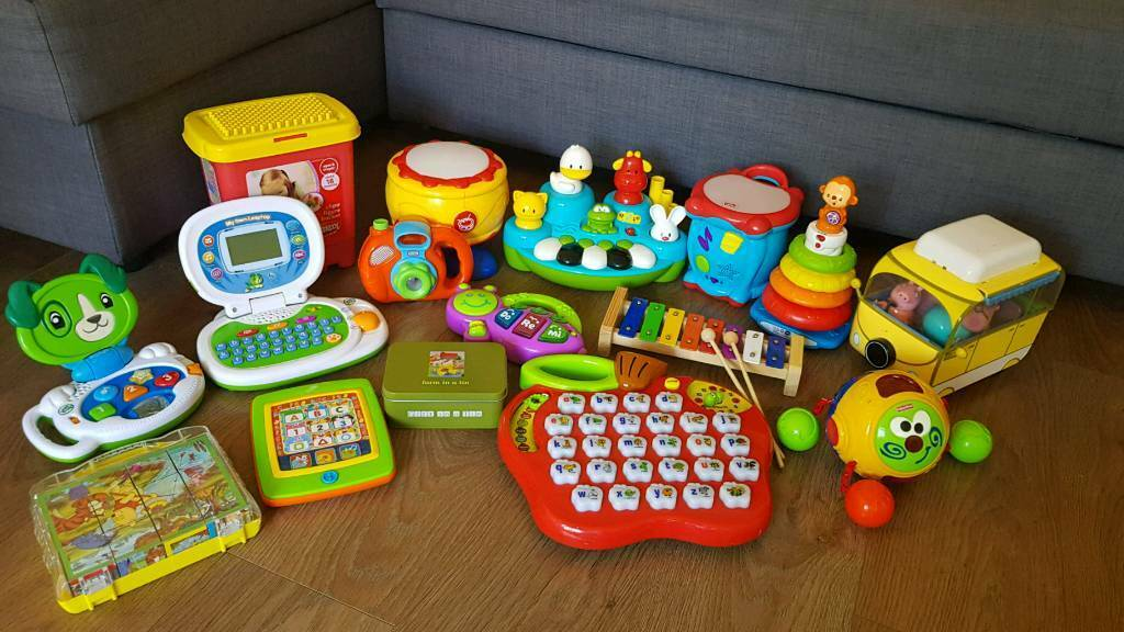Bundle Of Baby Toddler Toys Vtech Leapfrog Etc In
