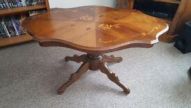 Beautiful sturdy Mahogany coffee table for sale