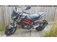 Benelli 125 Tornado motorbike