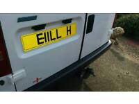 Registration plate BILL H £750