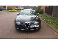 Alfa Romeo GT Cloverleaf in Black. Excellent condition inside and out. Full service history