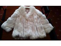 Ladies Real Arctic Fox Fur Jacket