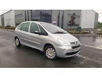 2007 Citroen Xsara Picasso 1.6 HDI Exclusive Long MOT Cheap Turbo Diesel Family Car Renault Scenic