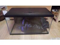 58L Fish Tank Aquarium with all accessories (filter, heater, gravel, ornaments)