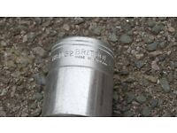 "Britool 32mm Bi-Hexagonal HBM32 Socket with 3/4"" Square Drive"